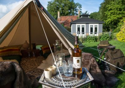 Whisky tent